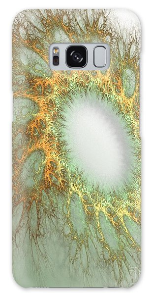 Galaxy Case featuring the digital art Grandmas Doily by Sandra Bauser Digital Art