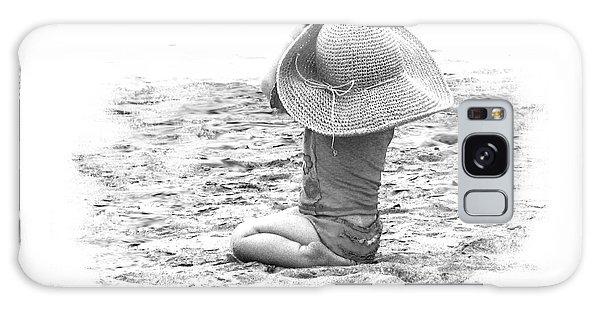 Grandma's Hat Galaxy Case by Kerri Ligatich