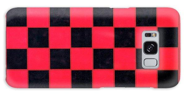 Grandpa's Checkerboard Galaxy Case