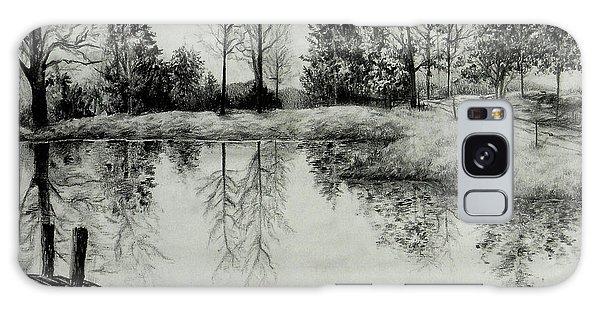 Grandpa's Pond Galaxy Case