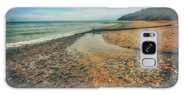 Grant Park - Lake Michigan Beach Galaxy Case by Jennifer Rondinelli Reilly - Fine Art Photography