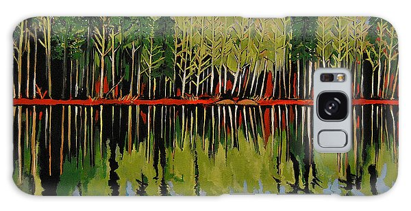 Grant's Lake Reflections Galaxy Case by Kathleen Sartoris