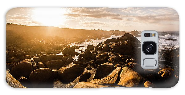 West Bay Galaxy Case - Granville Harbour Tasmania Sunrise by Jorgo Photography - Wall Art Gallery