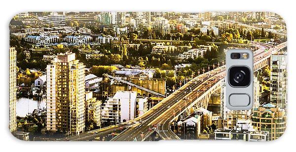 Granville Street Bridge Vancouver British Columbia Galaxy Case
