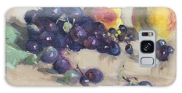 Grape Galaxy Case - Grape And Peach by Ylli Haruni