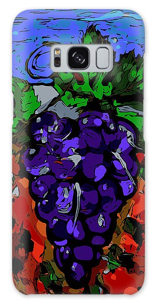Grape Jazz Digital Galaxy Case