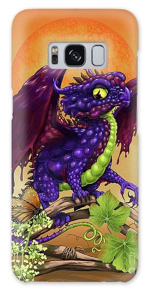 Grape Jelly Dragon Galaxy Case