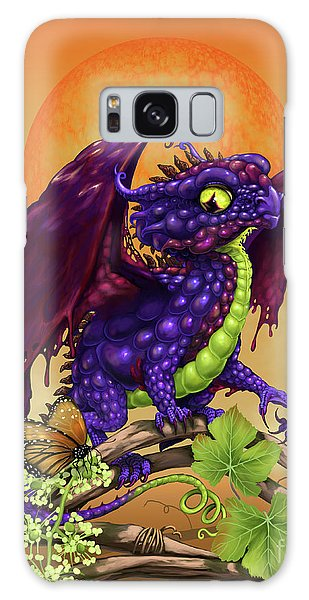 Grape Jelly Dragon Galaxy Case