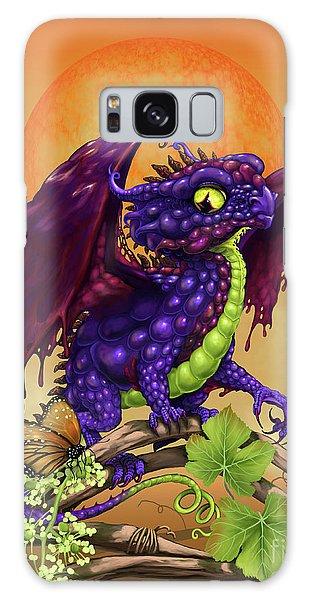 Grape Jelly Dragon Galaxy Case by Stanley Morrison