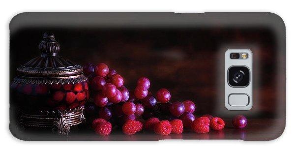 Grape Raspberry Galaxy Case by Tom Mc Nemar