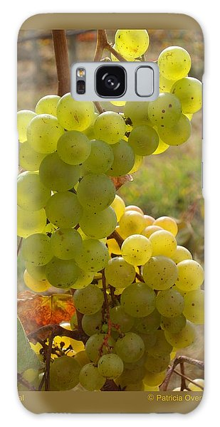 Grape Spiral Galaxy Case by Patricia Overmoyer