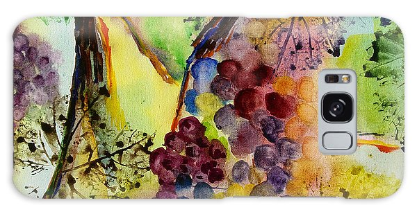 Grapes And Leaves IIi Galaxy Case