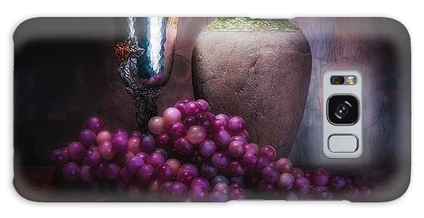 Grape Galaxy Case - Grapes And Silver Goblet by Tom Mc Nemar