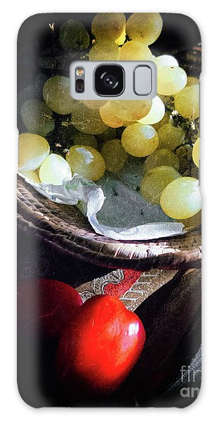 Galaxy Case featuring the photograph Grapes And Tomatoes by Silvia Ganora