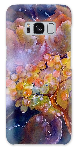 Grapes In A Misty Autumn Night Galaxy Case
