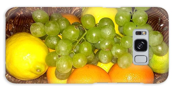 Grapes, Lemons, Mandarins And Lime  Galaxy Case