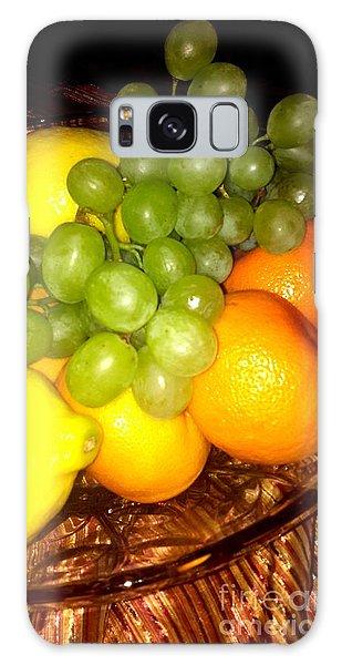 Grapes, Mandarins, Lemons Galaxy Case