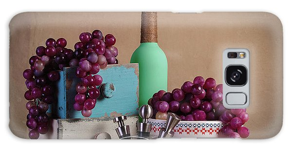 Grapes With Wine Stoppers Galaxy Case by Tom Mc Nemar