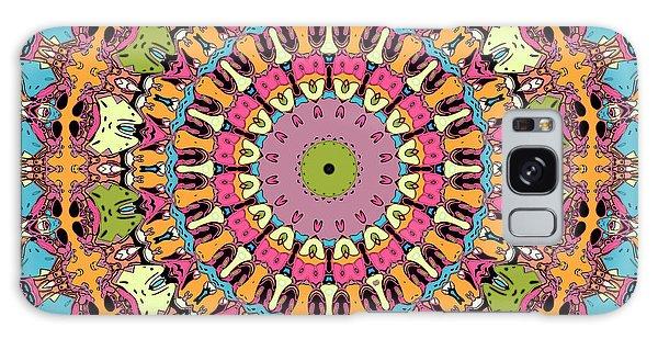 Galaxy Case featuring the digital art Graphic Novel Style Kaleidoscope by Joy McKenzie