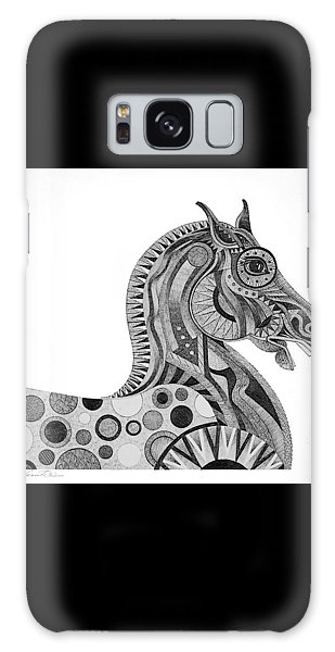 Graphite Horse Galaxy Case by Bob Coonts