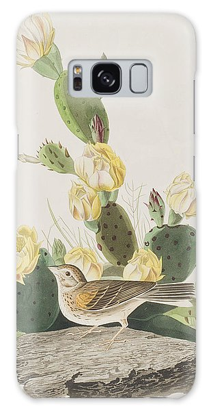 Grass Finch Or Bay Winged Bunting Galaxy Case