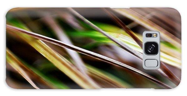 Galaxy Case featuring the photograph Grass by Michaela Preston