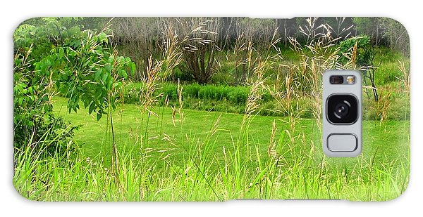 Swaying Grass Galaxy Case