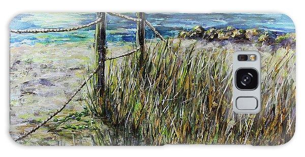 Grassy Beach Post Morning 1 Galaxy Case