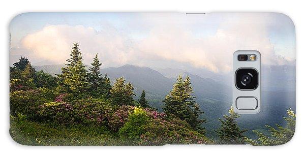 Grassy Ridge Rhododendron Bloom Galaxy Case