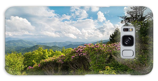 Grassy Ridge Roan Highlands Rhododendrons On The Appalachian Trail Galaxy Case