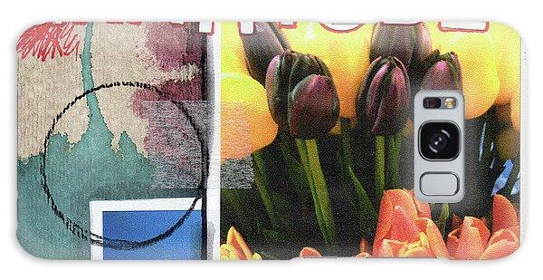 Tulip Galaxy S8 Case - Gratitude- Art By Linda Woods by Linda Woods