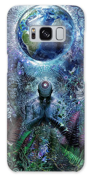 Gratitude For The Earth And Sky Galaxy Case
