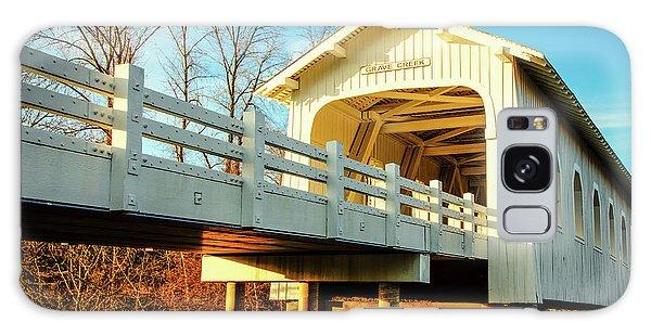 Grave Creek Covered Bridge Galaxy Case