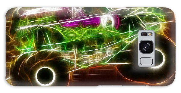 Grave Digger Monster Truck Galaxy Case by Paul Van Scott