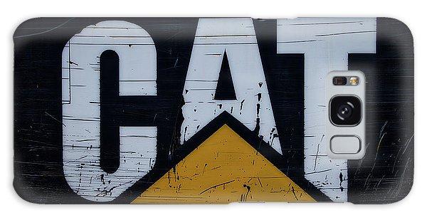 Gravel Pit Cat Signage Hydraulic Excavator Galaxy Case