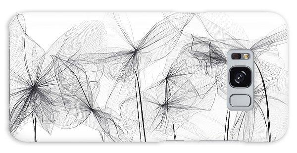 Gray Galaxy Case - Grayish Spring - Modern Art by Lourry Legarde