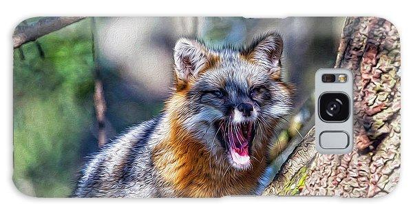 Gray Fox Awakens In The Tree Galaxy Case