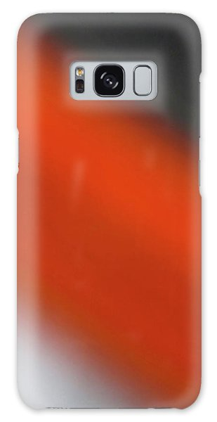 Gray Orange Grey Galaxy Case