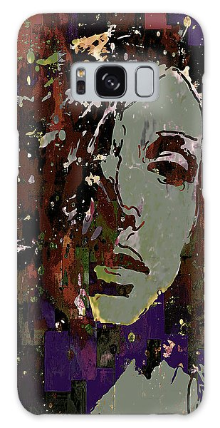 Gray Portrait Galaxy Case