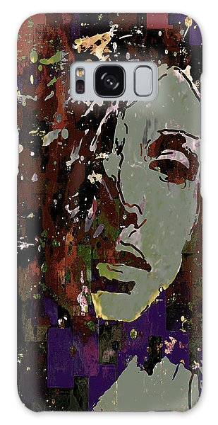 Galaxy Case featuring the photograph Gray Portrait by Jeff Gettis