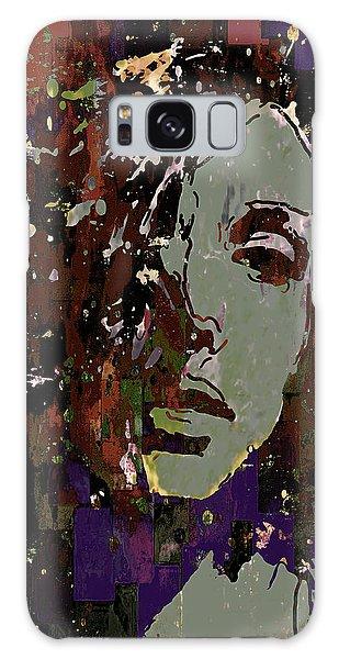Gray Portrait Galaxy Case