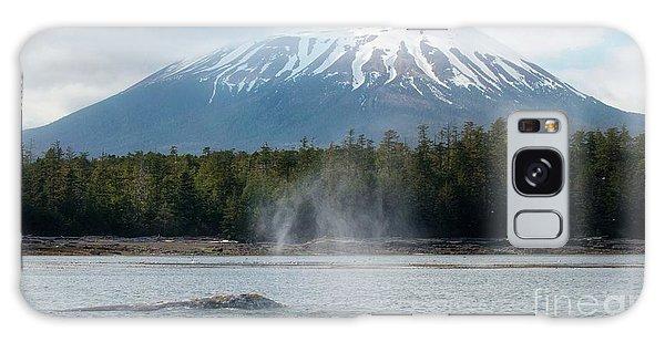 Gray Whale, Mount Edgecumbe Sitka Alaska Galaxy Case