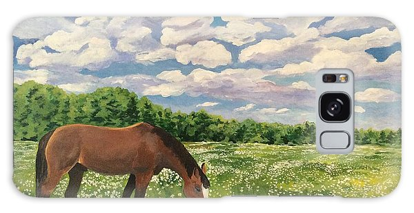 Grazing Among The Daisies Galaxy Case