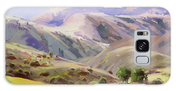 Pasture Galaxy Case - Grazing In The Salmon River Mountains by Steve Henderson
