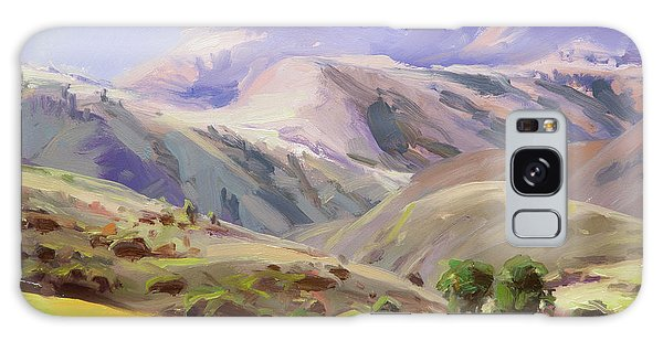 Wilderness Galaxy Case - Grazing In The Salmon River Mountains by Steve Henderson