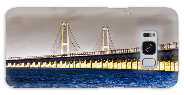 Great Belt Bridge Galaxy Case by Gert Lavsen