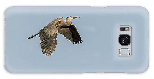 Great Blue Heron 2015-15 Galaxy Case by Thomas Young