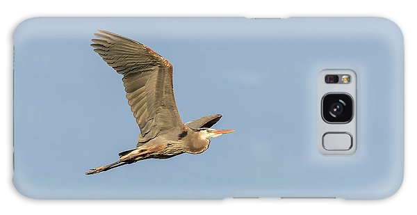 Great Blue Heron 2015-17 Galaxy Case by Thomas Young
