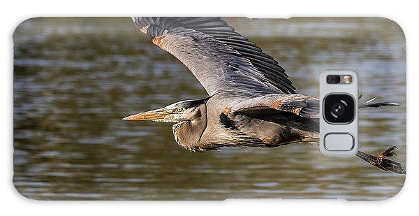 Great Blue Heron In Stratford Galaxy Case