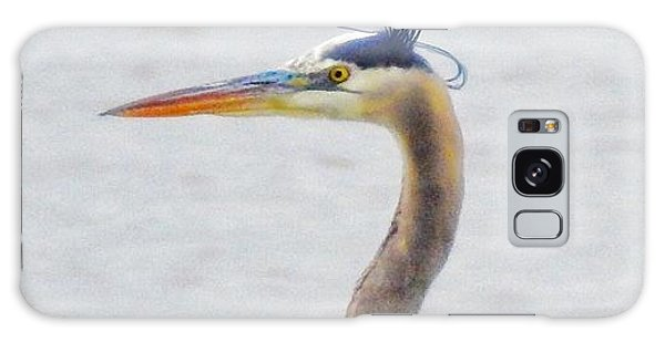 Great Blue Heron Of Virginia Galaxy Case